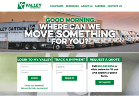 valleycartage.com