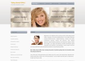 valleydentaloffice.com