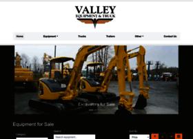 valleyequipmentandtruck.com