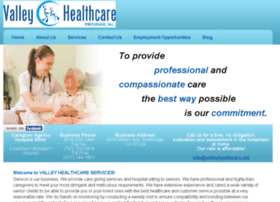valleyhealthcare.net