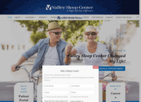 valleysleepcenter.com