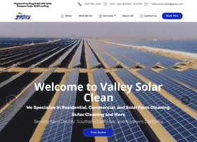 valleysolarclean.com