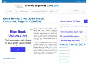valordosegurodecarro.com