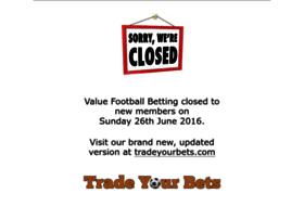 valuefootballbetting.com