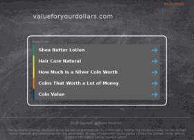valueforyourdollars.com