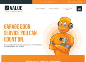 valuegaragedoorservice.com