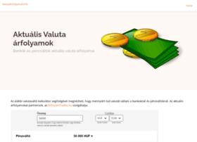 valutaarfolyamok.info