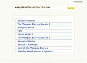 vampirediariesworld.com