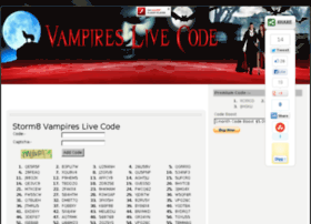 vampireslivecode.com