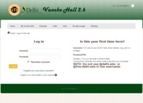 vanckohall.delhi.edu