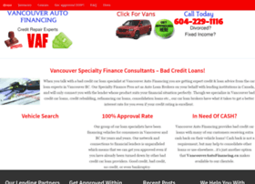 vancouverautofinancing.ca