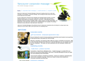 vancouvercorporatemassage.com