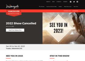 vancouvermotorcycleshow.ca