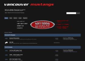vancouvermustangs.com