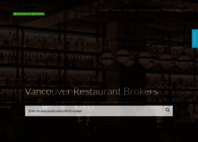 vancouverrestaurantbrokers.com
