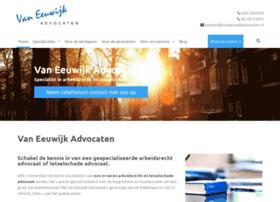 vaneeuwijkadvocaten.nl