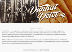 vanhatvelot.org