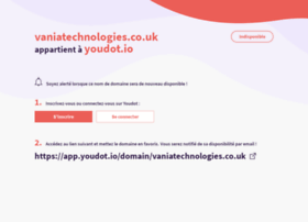vaniatechnologies.co.uk