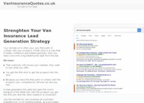 vaninsurancequotes.co.uk