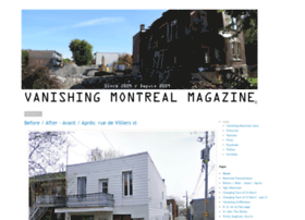 vanishingmontreal.com