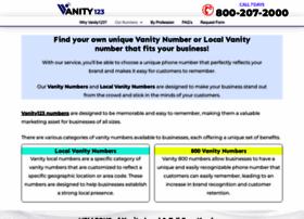 vanity123.com