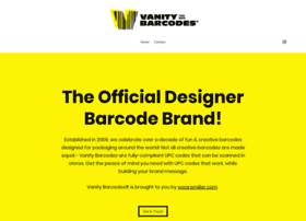 vanitybarcodes.com