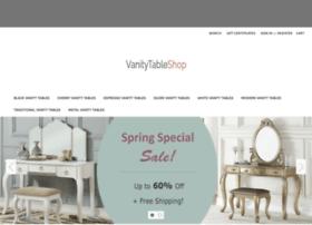 vanitytableshop.com