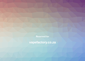 vapefactory.co.za