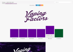 vapingfactors.co.uk