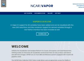 vapor.ucar.edu