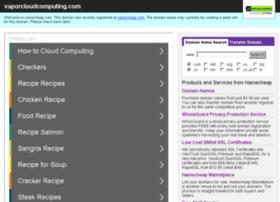 vaporcloudcomputing.com