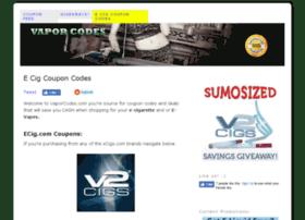 vaporcodes.com