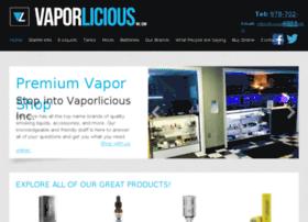 vaporliciousinc.net
