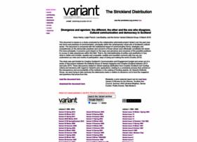 variant.org.uk