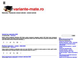 variante-mate.ro