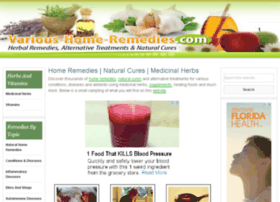 various-home-remedies.com