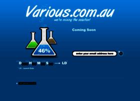 various.com.au