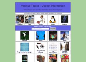 varioustopics.com