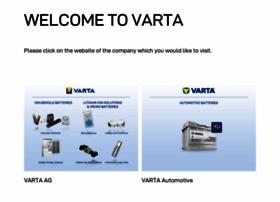 varta.com