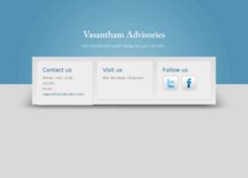 vasanthamadvisories.com