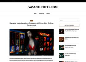 vasanthotels.com