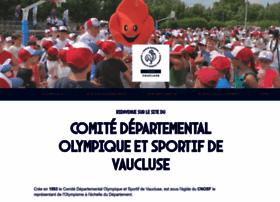 vaucluse.franceolympique.com