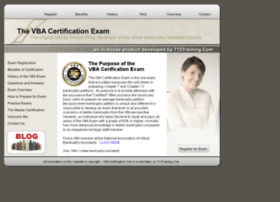 vbacertification.com