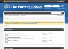 vbulletin.pottersschool.org