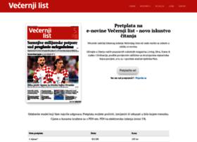 vecernjilist.newspaperdirect.com
