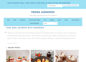 veenaartofcakes.com