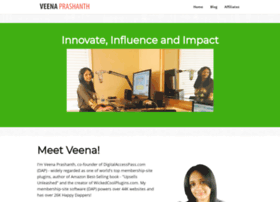 veenaprashanth.com
