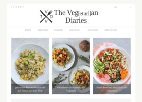 vegetarian-diaries.com