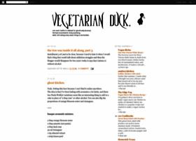 vegetarianduck.blogspot.com