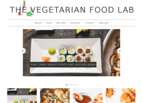 vegetarianfoodlab.com